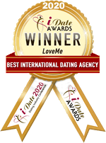 Idate Award Winner - 2020 Best International Dating Agency
