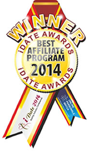 Idate Award Winner - Best Affiliate Program 2014